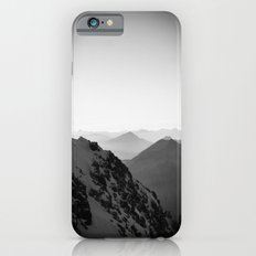Mountain Side Black and White Photo Europe Nature Slim Case iPhone 6s