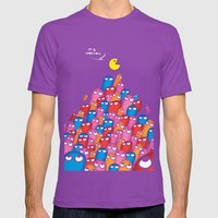 It´s Impossible  Mens Fitted Tee Ultraviolet SMALL