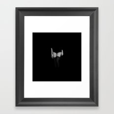 Are You Afraid Of The Da… Framed Art Print