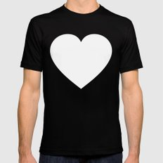 Groove Is In The Heart I SMALL Black Mens Fitted Tee
