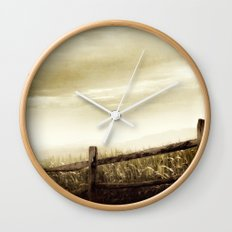 Corn Sky Wall Clock