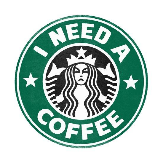 I need a coffee! Art Print