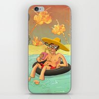 Enjoying Life at all cost iPhone & iPod Skin