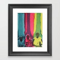 Courage, Wisdom, Strength Framed Art Print