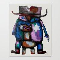 Sheriff Canvas Print