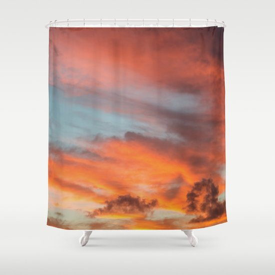 SIMPLY SKY Shower Curtain