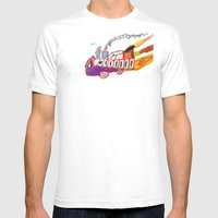 Childhood Drawing Mens Fitted Tee White SMALL
