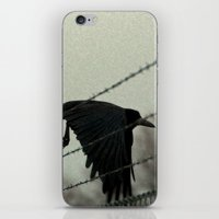 No Fences Can Hold Me iPhone & iPod Skin