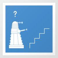 The problem with Daleks. Art Print