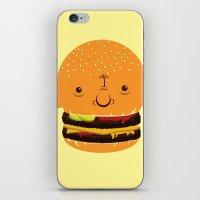 Cheeseburgerhead iPhone & iPod Skin
