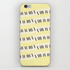 Piano wave iPhone & iPod Skin