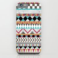 iPhone & iPod Case featuring Age of the Aztec by Teacuppiranha