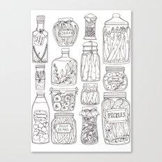 Pickles Print Canvas Print