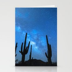 Cacti Milky Way Stationery Cards
