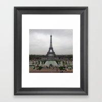Eiffel Tower, Paris Fran… Framed Art Print