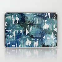 Mystic Cloud: Teal Laptop & iPad Skin