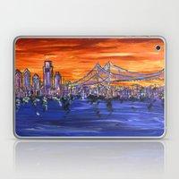 Ben Franklin Bridge Suns… Laptop & iPad Skin