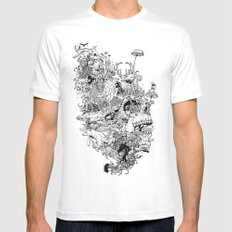 Growth Mens Fitted Tee White MEDIUM