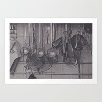 The Kitchen... Art Print