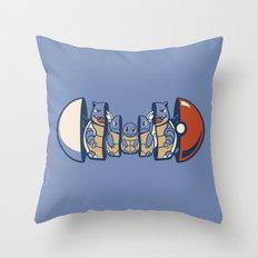 Poketryoshka - Water Type Throw Pillow