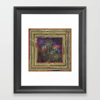 Art Digital Vintage  Framed Art Print