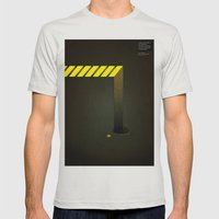 Asphalt: Facebook Shapes… Mens Fitted Tee Silver SMALL