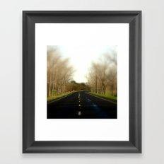 Avenue of Honour Framed Art Print