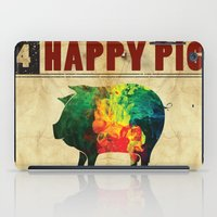 Happy pig iPad Case