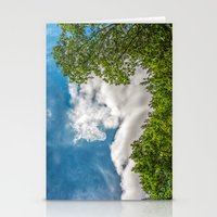Rider in the sky Stationery Cards