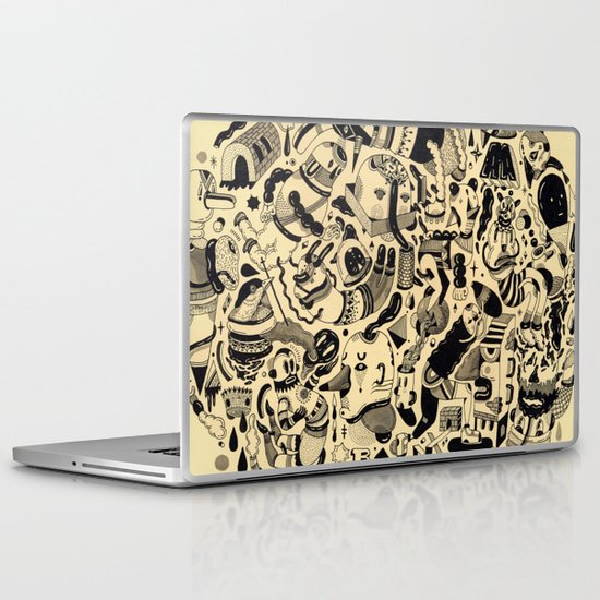 Pretzel Laptop & iPad Skin
