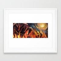 Heaven to Hell Framed Art Print