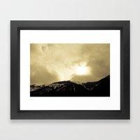 To The Heavens Framed Art Print