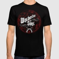 Winchester & Sons Mens Fitted Tee Black SMALL