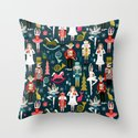 Nutcracker Ballet by Andrea Lauren  Throw Pillow
