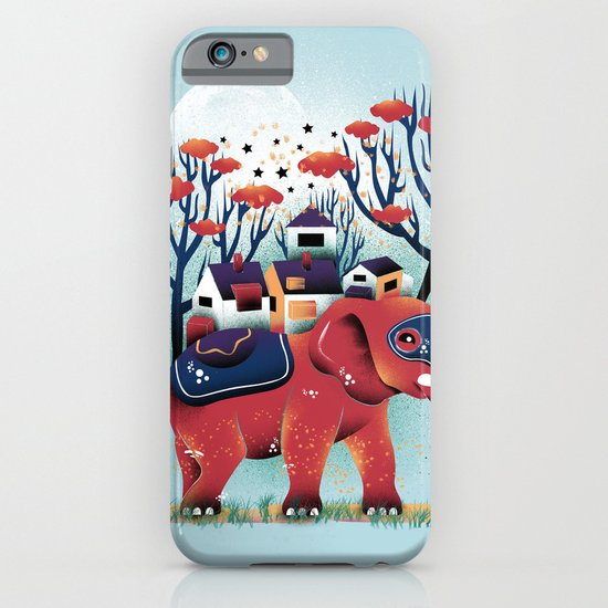 A Colorful Ride iPhone & iPod Case
