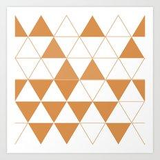 Geometric DC Art Print