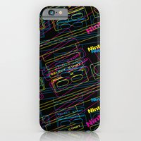 ness control pattern iPhone 6 Slim Case