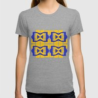 Go Blue Womens Fitted Tee Tri-Grey SMALL