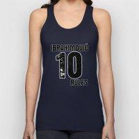 Ibrahimovic 10 Rules Unisex Tank Top