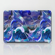 Ocean narwhal  iPad Case