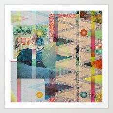 DIPSIE SERIES 001 / 02 Art Print
