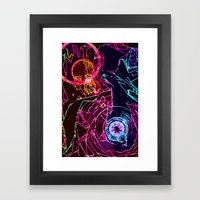Jazz in the Dark Framed Art Print