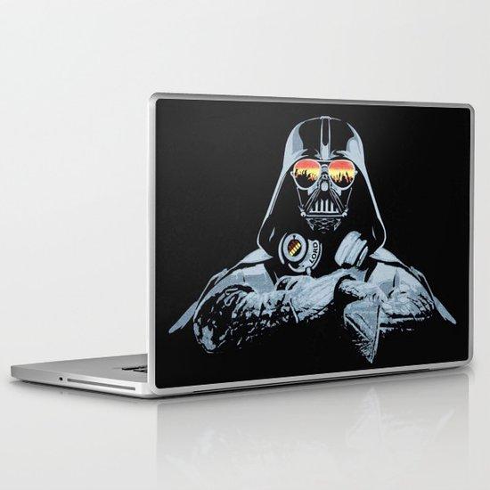 DJ Darth Vader Laptop & iPad Skin