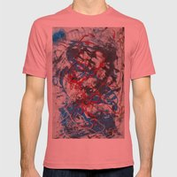 Tangled Mens Fitted Tee Pomegranate SMALL