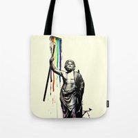 God of Graffiti Tote Bag