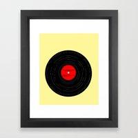 Born to Run- Bruce Springsteen Vinyl Framed Art Print