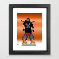 Street Samurai Series - Ninja  Framed Art Print