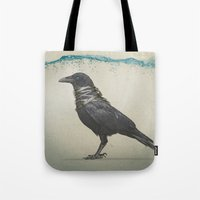 Raven Band Tote Bag