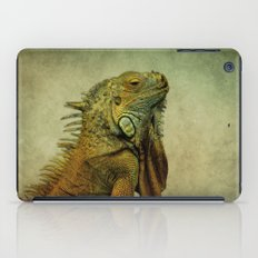 Green Iguana iPad Case