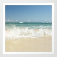 Beach Love Shoreline Ser… Art Print